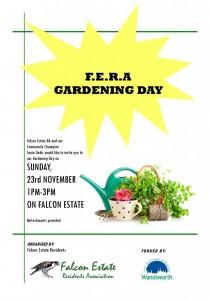 FERA Gardening Day 23. nov.