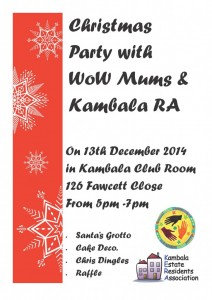 WoW Xmos Party Poster 2014
