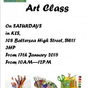 WoW Art Class2015 poster